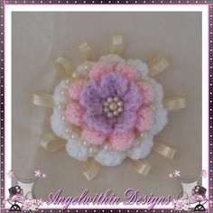 Lilac Pink Corsage by AngelwithinDesigns on Etsy, £13.50