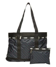 Another great find on #zulily! Black Nauticool Travel Tote & Pouch…