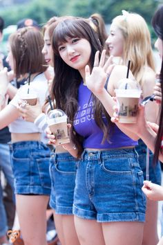 Korean Girl, Asian Girl, Cheng Xiao, Asian Celebrities, Cutest Thing Ever, Cosmic Girls, Great Legs, Korean Music, Kpop Girls