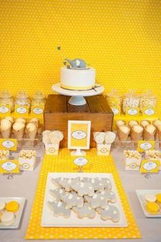 My Little Party Blog. Fiestas color amarillo.