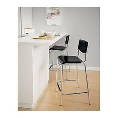 """For KITCHEN: STIG Bar stool with backrest - 24 3/4 """" - IKEA $16.99 each"""