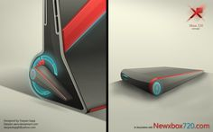 Xbox 720 Console Concept Design by Darpan Bajaj - Data Carrier