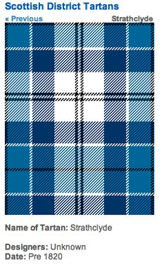 http://www.scotclans.com/whats_my_clan/district_tartans/scottish_district_tartans/strathclyde_tartan.html