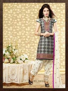 Chanderi cotton top,3 Mr bottom n pure chiffon dupatta ....available at amazing prices. ...900 per piece...at wholesale prices. .