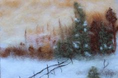 home decor holidays gifts wool painting wool art gifts