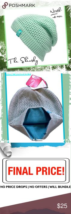 North Face SHINSKY Beanie Mint and Turquoise SHINSKY Beanie.. Fully lined, warm and cozy. The North Face Accessories Hats