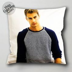 theo james vistacustoms.com Pillow Case, Cushion Cover with optional 1 or 2 side print and available in size 16, 8, 20, 24, 28, 30, 36 inch D3 9.jpg