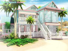 Pralinesims' Pastel Beach Home