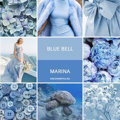 цвет осень зима 2017 2018 pantone голубой marina blue bell color