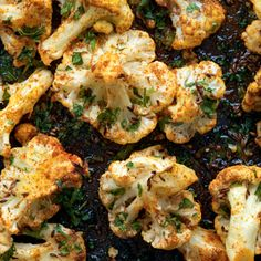 Roasted Cauliflower with Punjabi Seasonings - The Happy Foodie