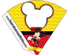 Cone Guloseimas Mickey: