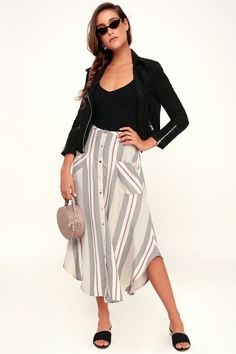 e9815d9284907e Boho babes will love the throwback look of the O Neill Seymour Beige Multi  Stripe