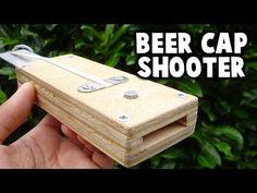 Beer Cap Shooter - YouTube