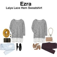 Casual wear with a little extra style