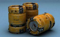 Barrel Sci Fi Sci Fi Max - 3D Model Star Wars Concept Art, Robot Concept Art, Spaceship Interior, Hard Surface Modeling, Arte Cyberpunk, Aztec Warrior, Sci Fi Environment, Sci Fi Models, 3d Modelle