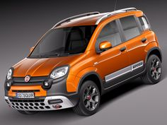 Small off-roader, done right! Fiat Panda Cross