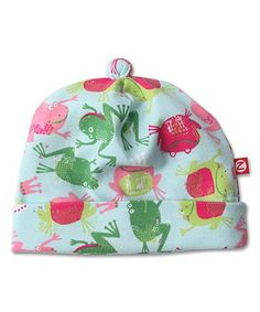 Another great find on #zulily! Sky Frog Princess Beanie #zulilyfinds