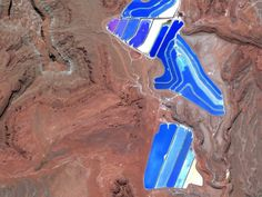 Texas Gulf Potash Pond in Monticello, Utah