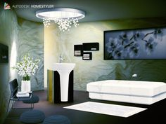 Sehen Sie sich mein #Innendesign 'Design bathroom C Spa