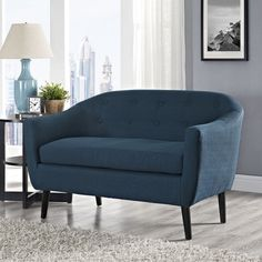 @Overstock - Wit Loveseat - Designed according to the mid-century modern style with an emphasis on imparting a sense of ambition and organic living, Wit is gracefully positioned for everyday gatherings and get-togethers.  http://www.overstock.com/Home-Garden/Wit-Loveseat/10072524/product.html?CID=214117 $339.99