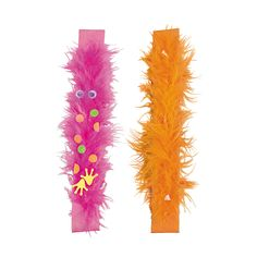 Wild Wonders Furry Slap Bracelet Craft Kit - OrientalTrading.com