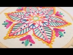 BORDADO MANDALA - IDEAS PARA BORDAR - YouTube
