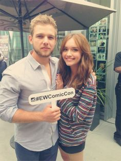 Keenan Tracey And Olivia Cooke