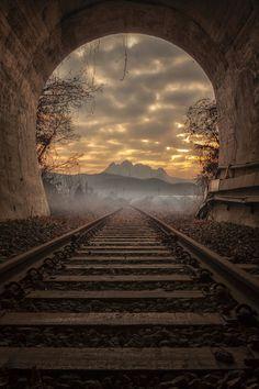 터널 저편 풍경^^