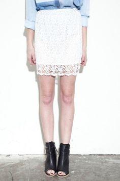 #joacloset.com            #Skirt                    #Party #Lace #Skirt       Tea Party Lace Skirt                                http://www.seapai.com/product.aspx?PID=920208