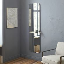 Modern Hanging Mirrors and Floor Mirrors | west elm | Interiors ...