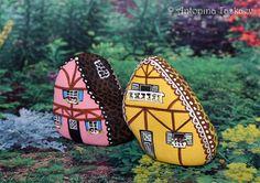 Miniature house street