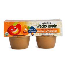 Wacky Apple Og2 Apple Sauce Apricot (6x4Pack)