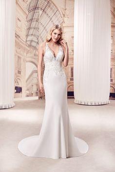 c6b77ce39fb Wedding Dress MD294. Eddy KDesigner GownsDesigner Wedding DressesWedding ...