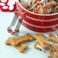Ginger Dog Biscuits by Taste of Home- could easily 1/2 the recipe