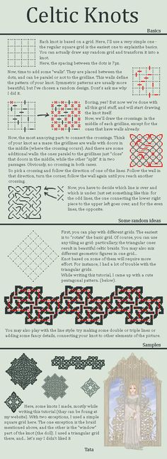 Celtic Knot Tutorial by ~tata-s-z on deviantART