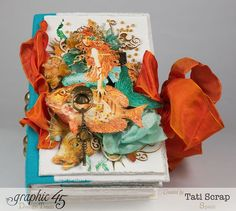 Tati, Traveller Book, Voyage Beneath the Sea, Product by Graphic 45