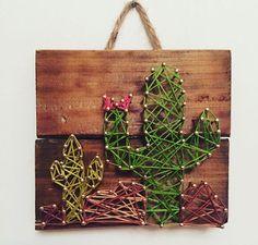 Cactus String art!