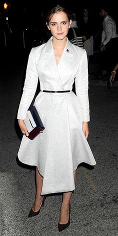 Emma Watson - From Blue Velvet to White Lace, Check Out This Week's Best-Dressed Celebs