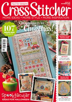 Cross Stitcher Magazine issue 310, October 2016