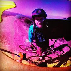 Mid-ride #beer stop #reflection. Via @the4color. #mtb #mountainbike