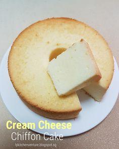 LY's Kitchen Ventures: Cream Cheese Chiffon Cake