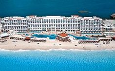 The Royal in Cancun. All ocean-front suites, huge jacuzzi tubs in rooms, beautiful white beach in the heart of Cancun