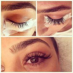 asian eyelash extension - Google Search                                                                                                                                                     More #individuallashes #makeupeyelashes