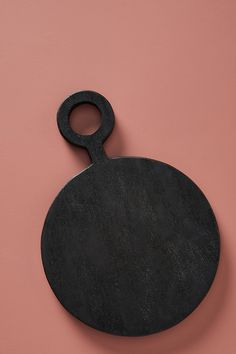 Farmstead Round Cheese Board by Anthropologie in Black, Kitchen