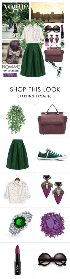 """""""Summer 2016 #31"""" by legostep ❤ liked on Polyvore featuring Converse, Alexis Bittar, Bling Jewelry, Urban Decay and Galliano"""