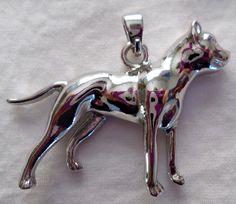 American Pit Bull Terrier Dog Charm.