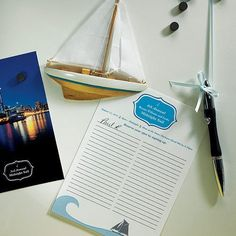 Smooth Sailing Sailboat Wedding Favor Magnet  -Shop on WeddingWire! Wedding Favours Magnets, Candle Wedding Favors, Beach Wedding Favors, Gifts For Wedding Party, Custom Playing Cards, Presentation Cards, Wedding Bubbles, Summer Wedding Invitations, Wedding Welcome Bags