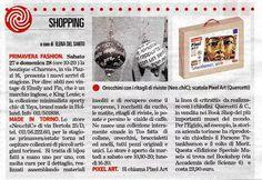 """ieri la giornalista Elena Del Santo della """"LA STAMPA"""" ha scritto dello store!!"""