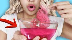 DIY DIP ON Hair Dye! How To Color Hair Using PAPER!!