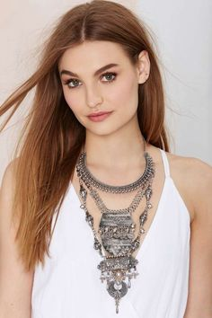 Amanti Tiered Necklace | Shop Accessories at Nasty Gal!